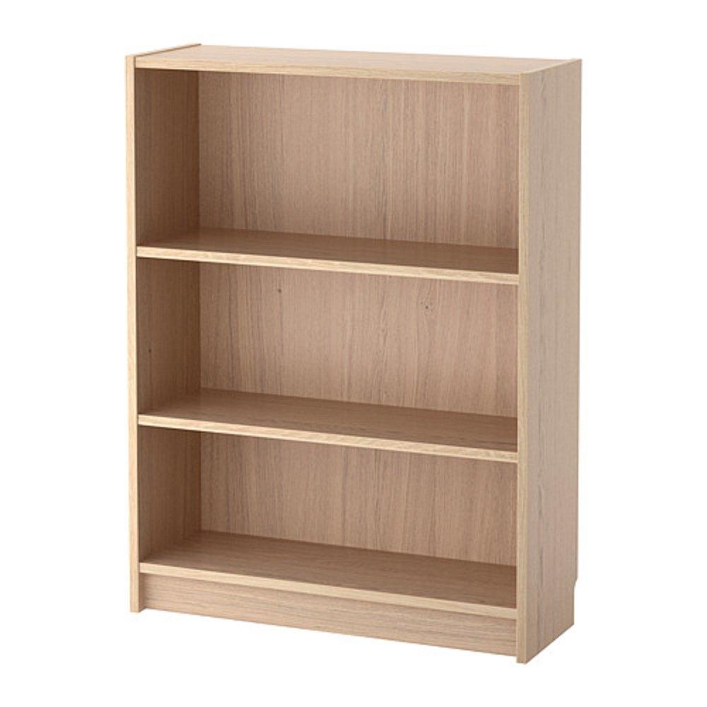 IKEA/イケア BILLY/ビリー:書棚80x28x106 cm ホワイトステインオーク材突き板 (104.042.46) B07D21LT3H
