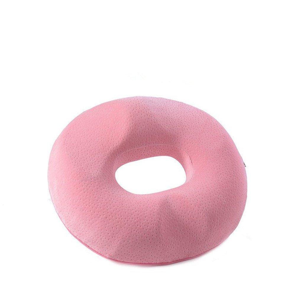 Cojín de 屁股垫 la silla Nalgas hermosas que amortiguan 屁股垫 de Cojines-rosado 45x40x8cm(18x16x3inch) 90922d