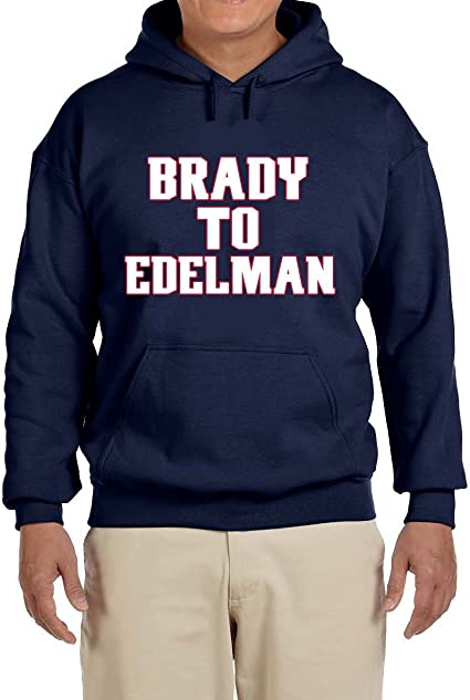 Tobin Clothing Navy New England Brady Goat Hooded Sweatshirt