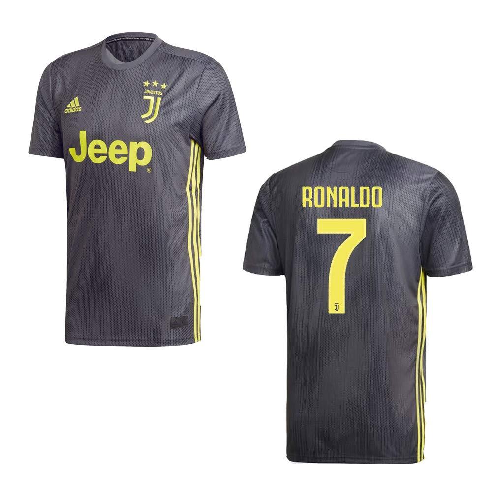 Adidas Juventus Turin Trikot 3rd Kinder 2019 - Ronaldo 7