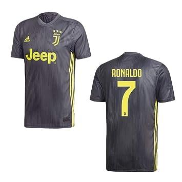 adidas Juventus Turin Trikot 3rd Kinder 2019 Ronaldo 7
