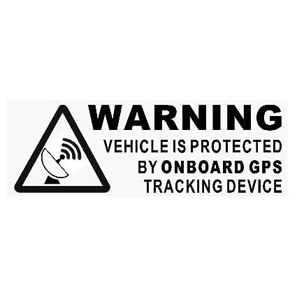 5 pegatinas para señal de alarma para coches, barcos, bicicletas ...
