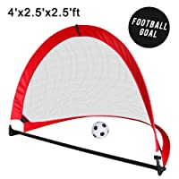 Football Pop Up Goals Mini Football Goal For Kids Small And Foldable Portable