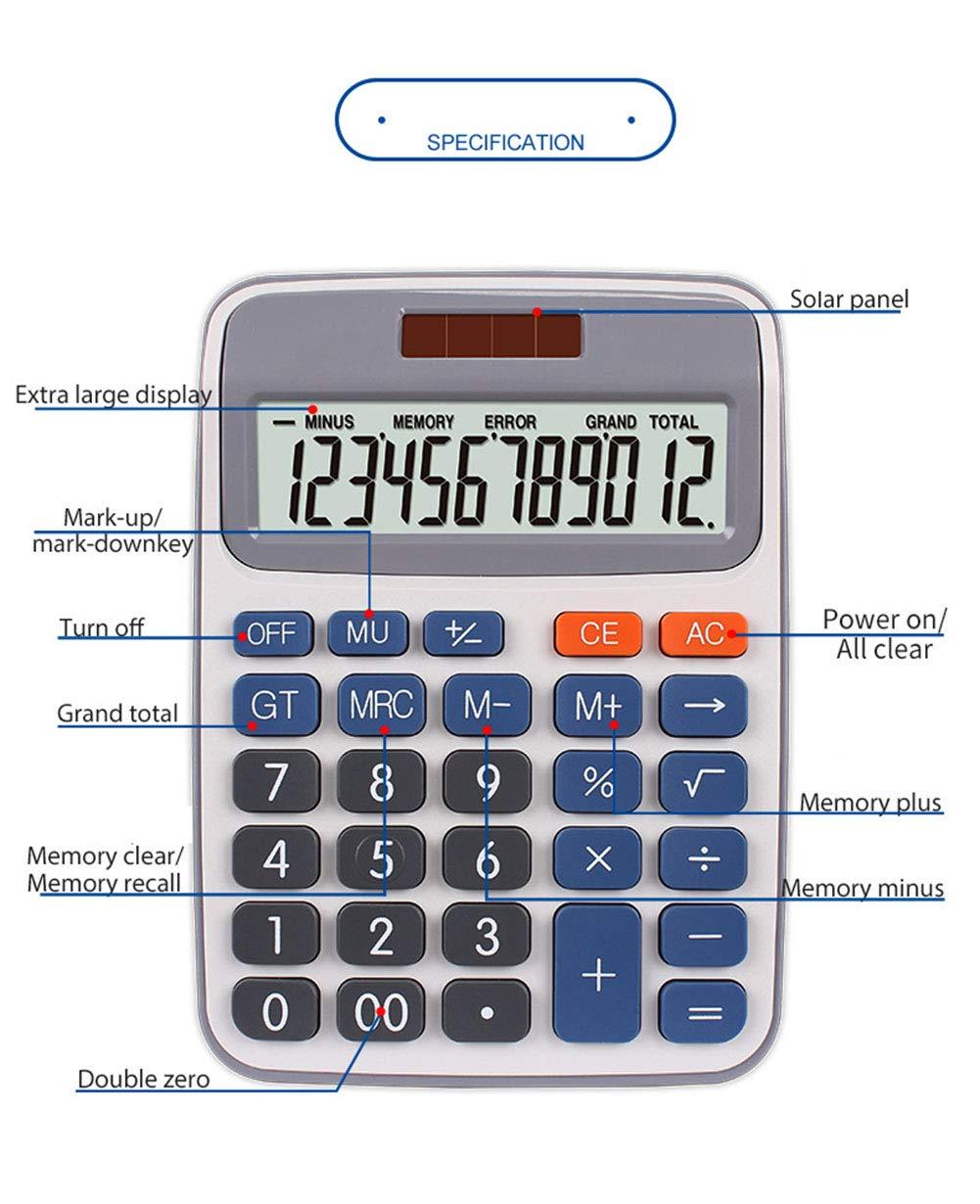 Calculator New Arrivals 12-Bit Large Screen Display Desktop