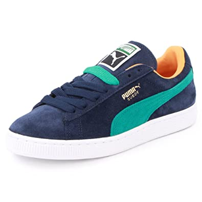 515d1daa7a7 Puma Suede Classic 352634 70 Womens Laced Suede Trainers Peacoat - 6   Amazon.co.uk  Shoes   Bags