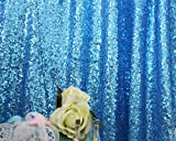 Product review for Glittery fabric Tablecloth Navy bridal Head Table Soiree Pageant Tablecloth fabric 3yard