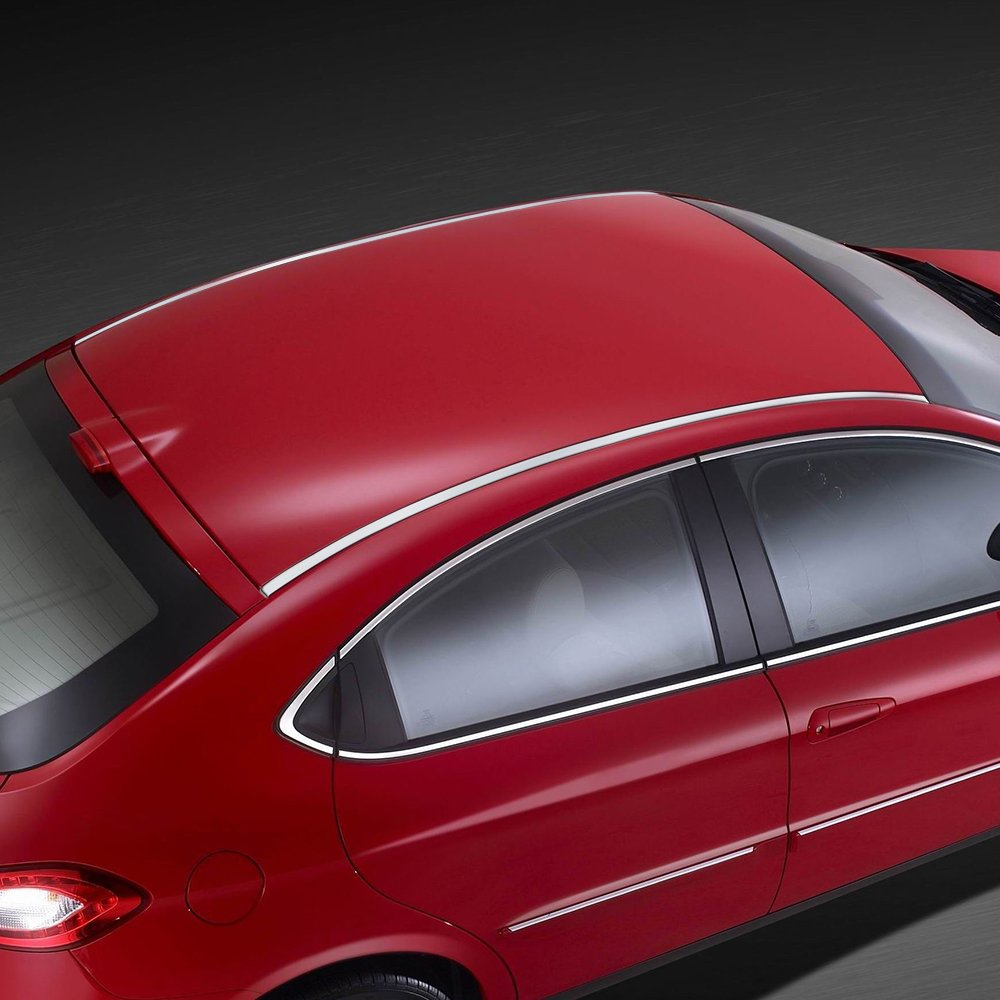 Astra Depot 100 Chrome Front Rear Bumper Door Edge Lip Guard Protection Overlay Molding Trim 3M Adhesive Tape Kit DIY Compatible with Audi Mini Porsche VW M-Benz