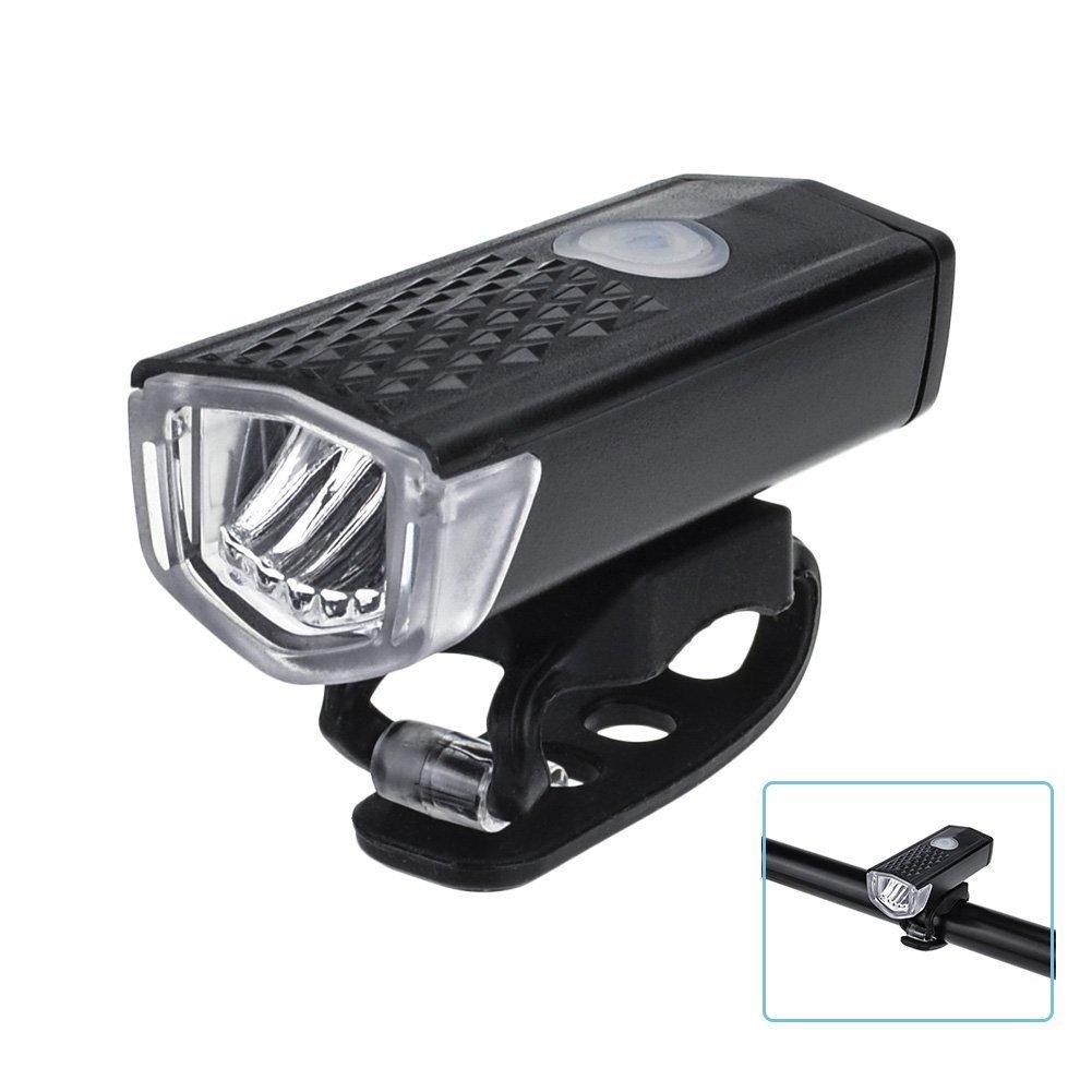 Fahrrad Vorderes Licht, OUTOWIN 300 Lumen LED Fahrradlicht USB ...
