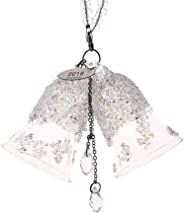Christmas Crystal Double Bell Decoration Crystals Ornament