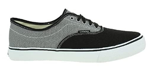 purchase cheap 06028 9595a Vision Street Wear Skateboard Shoes Sciera13 Black   Grey - Sneakers  Sneaker, shoe size