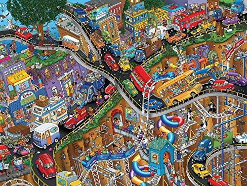 Ceaco Tooniverse - Moving Parts Puzzle (550 Piece)