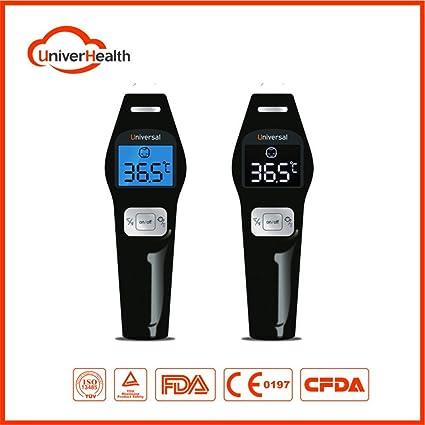 Termómetro médico infrarrojo sin contacto , frente con función de ...