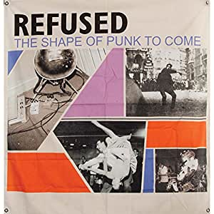 KINGS ROAD MERCHANDISE Affiche Sur Tissu Refused Forma de Punk Bandera–122x 122cm