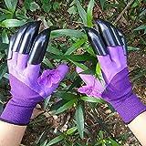 XJYAMUS Gardening Gloves, Waterproof Garden Gloves