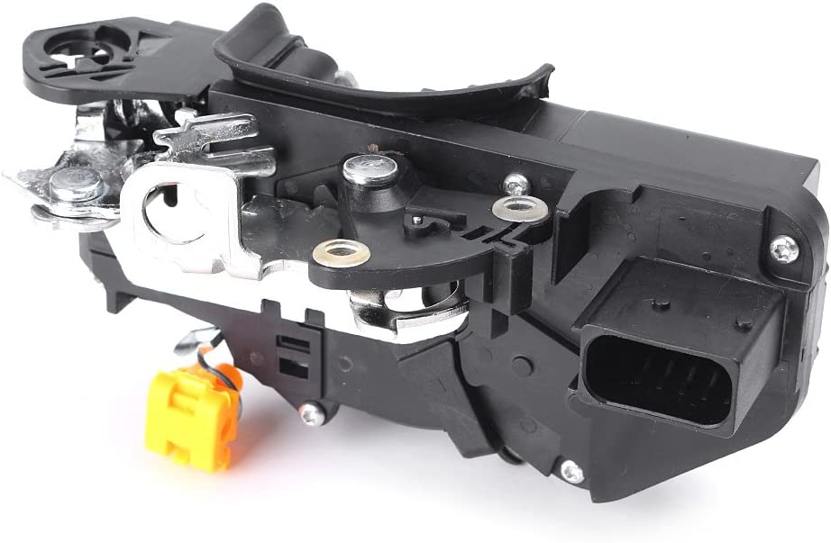GMC Yukon Mallofusa Car Door Latch Lock Actuator Assembly Rear Left Side Compatible for Chevy Silverado Cadillac Escalade Black GMC Sierra