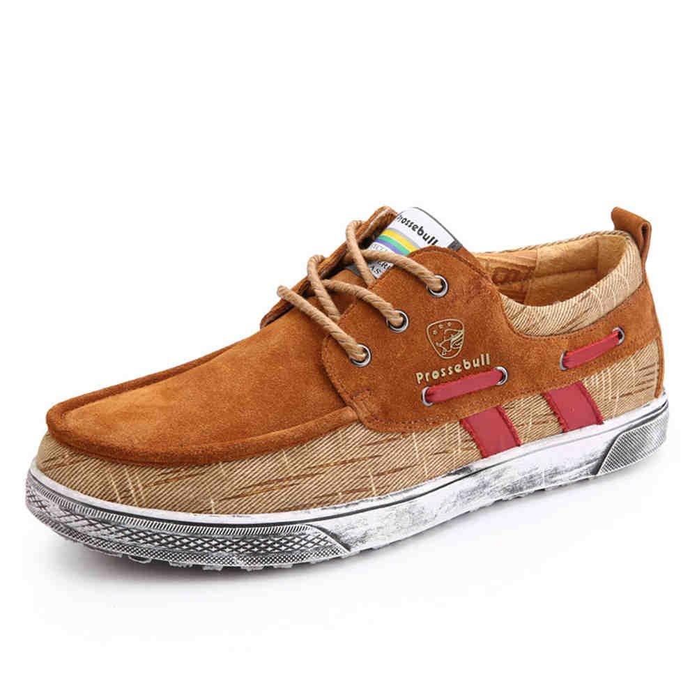 prossebullメンズ2015ファッションカジュアル靴 39 M EU ブラウン 37,38,39,40,41,42,43 B00Y1VJVAY  ブラウン 39 M EU