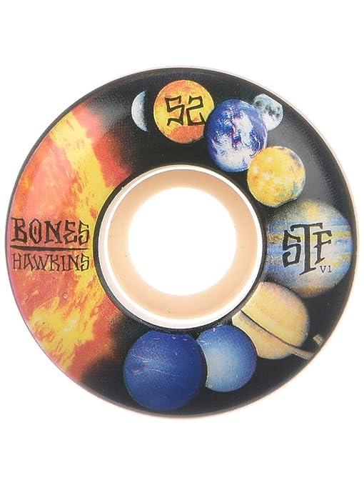Bones Wheels Hawkins Solo 52mm Street Tech Formula Skateboard Wheels V1