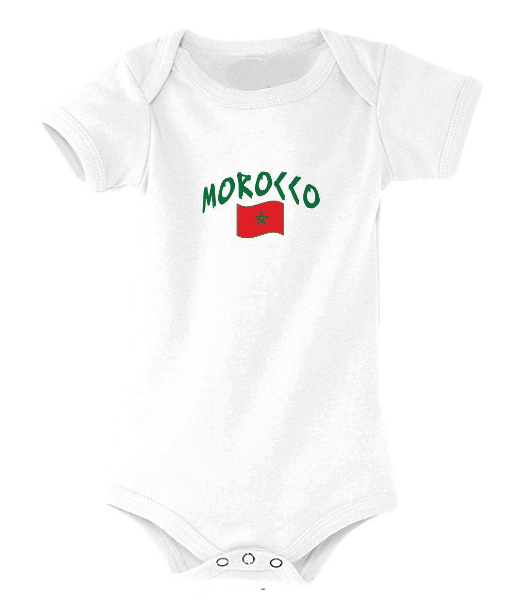 Supportershop Maroc Body Mixte Bébé Blanc SUPQM|#Supportershop 5060570680380