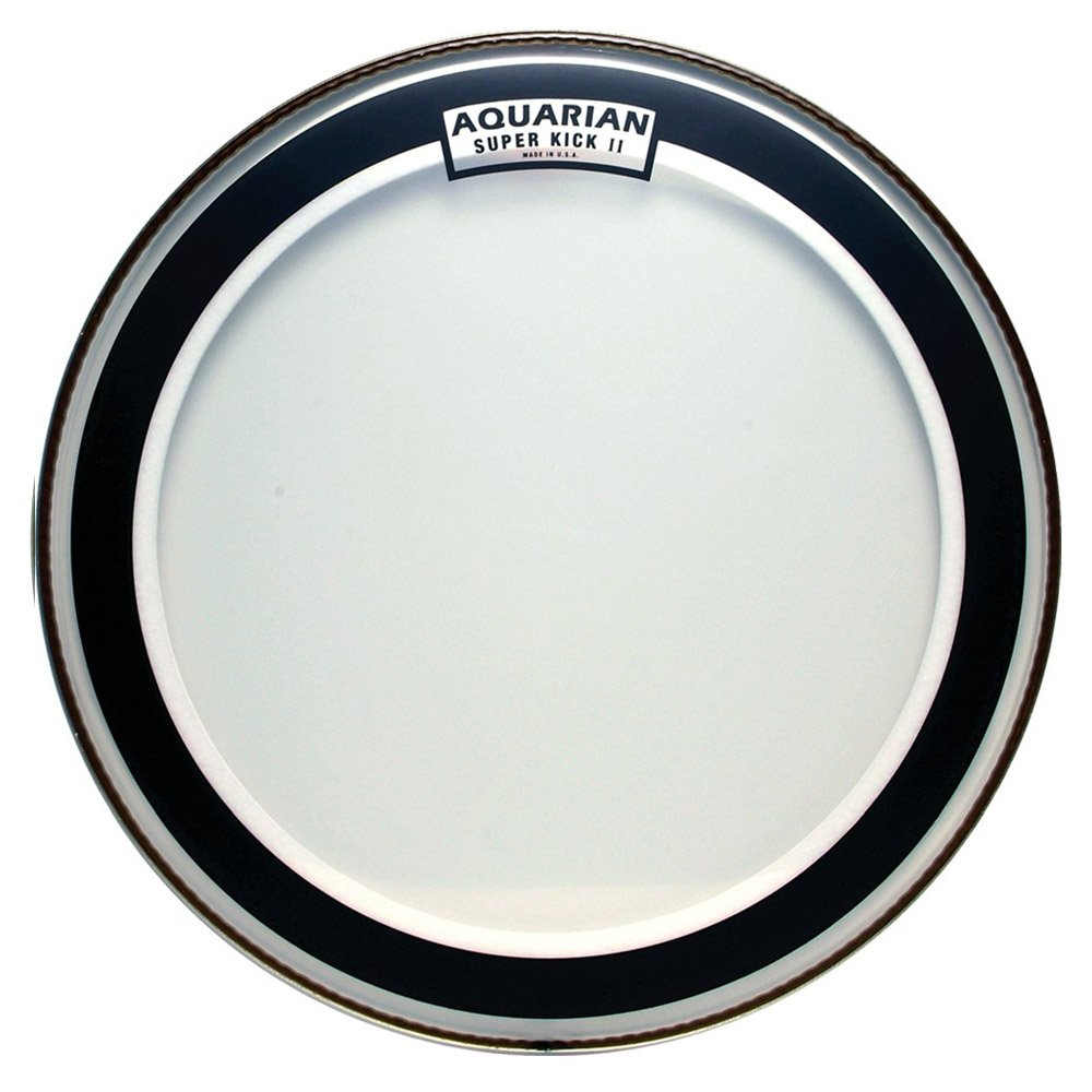 Aquarian SKII22 Drumheads Super-Kick II Double Ply 22-Inch Bass Drum Head