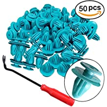50psc Toyota Trim Panel Retainer Clips With One Fastener Remover