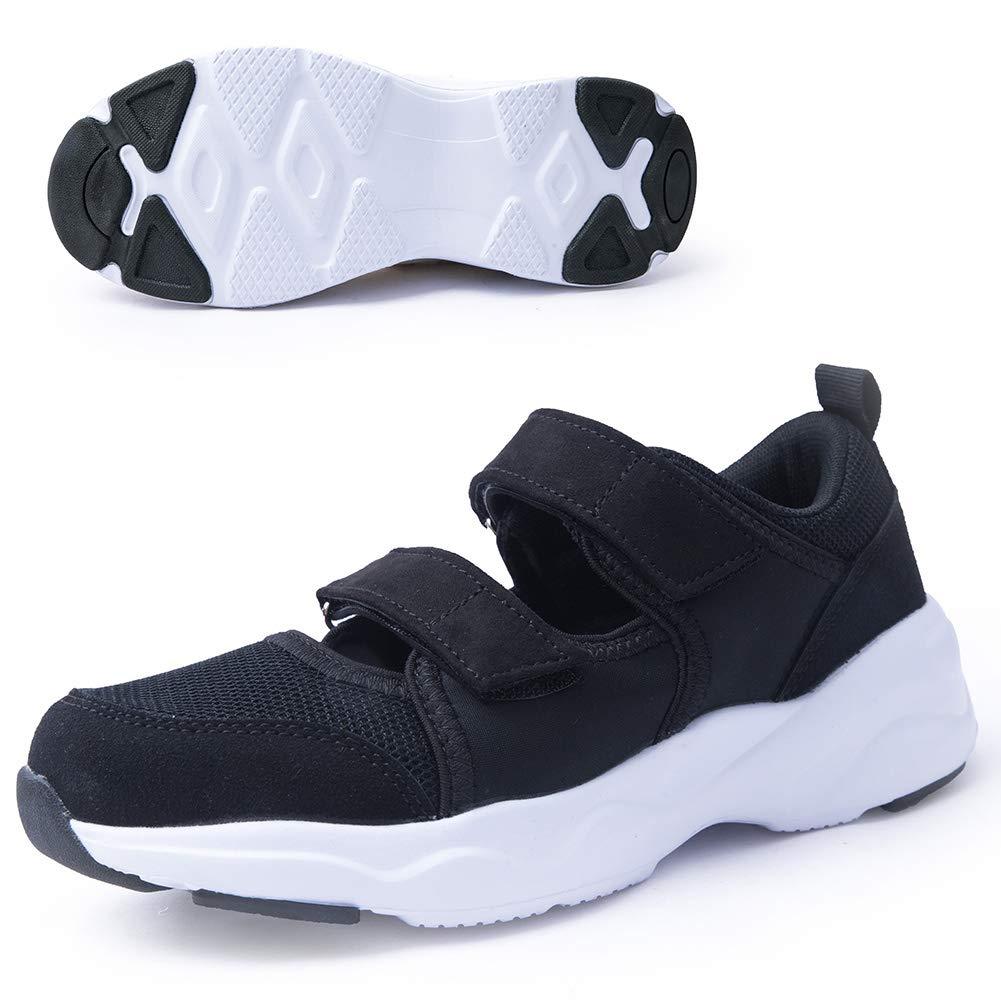 Women's Comfortable Working Nurse Shoes Non-Slip Adjustable Breathable Walking Buffer Fitness Casual Nursing Orthotic Lightweight Shoes Arthritis Diabetes Heel Pain Foot Pain Plantar Fasciitis