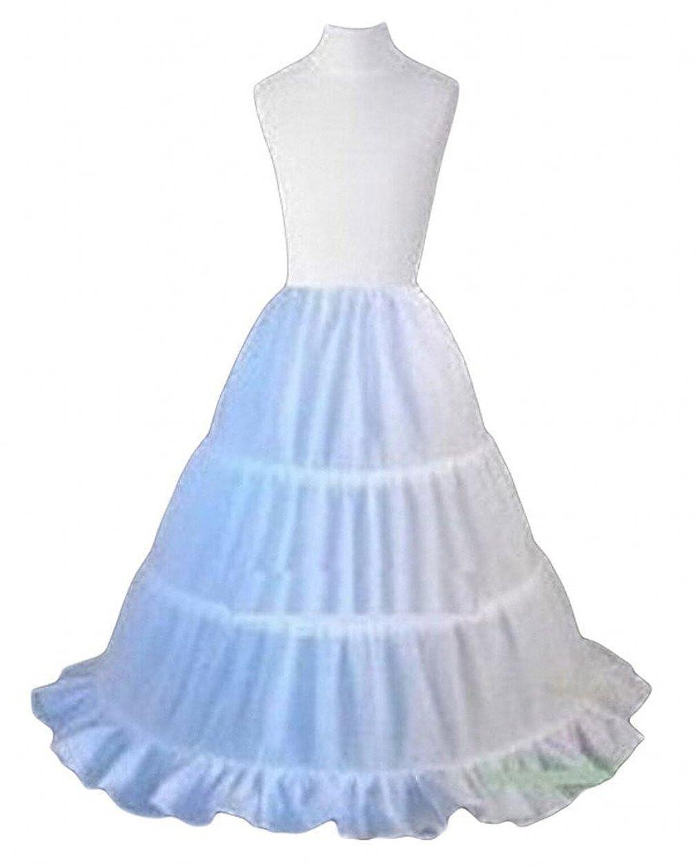 Dearta Children Half Slips Flower Girls Dresses Princess Petticoats CQ10005