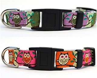 product image for Diva-Dog ~ Surf Cat 'H'Owl' Break-Away Cat Collar