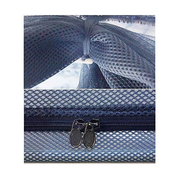 Shuang Mosquito Net Home Estate, 3 Elementi, Yurta zanzariera, 1,5 m-2m anticaduta Bambino Completamente Chiusa Anti… 5 spesavip