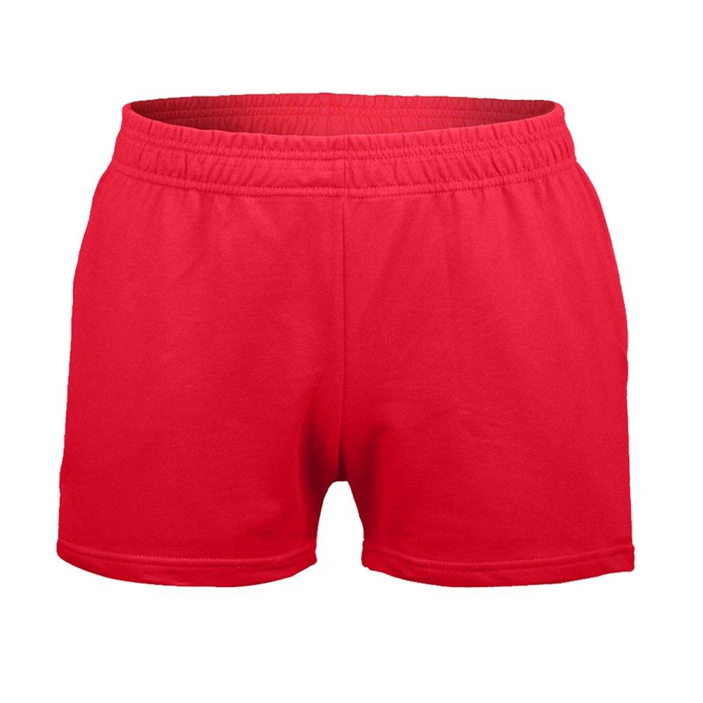 "Mens Bodybuilding Shorts 3"" Inseam Heavy 95% Terry"