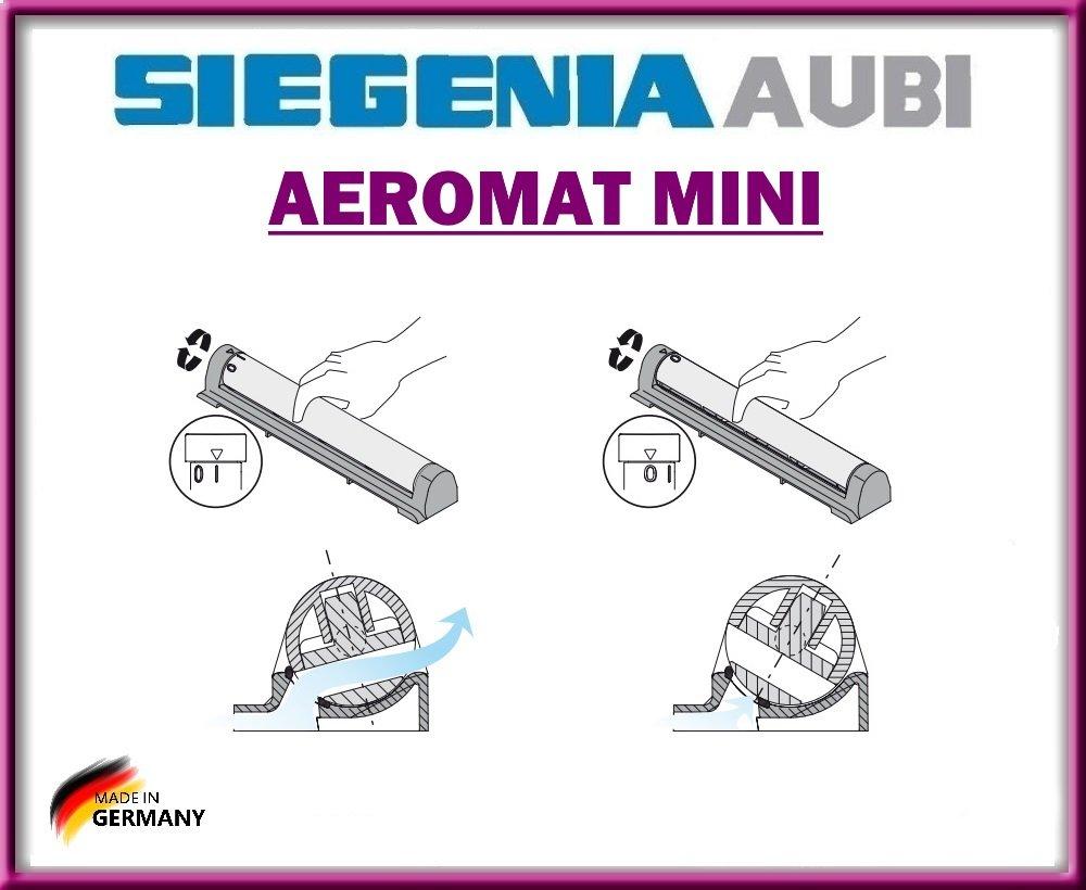 Aeromat Mini Mit Drehverschluss Mit Schrauben Von Siegenia