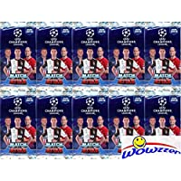 $29 » 2019/20 Topps Match Attax Champions League Soccer Collection of (10) Factory Sealed Foil Packs with 60 Cards! Look for Top Stars including…