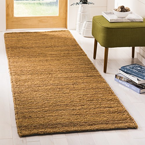 Organica Collection Runner (Safavieh Organica Collection ORG114A Hand-Knotted Gold Wool Runner (2'6