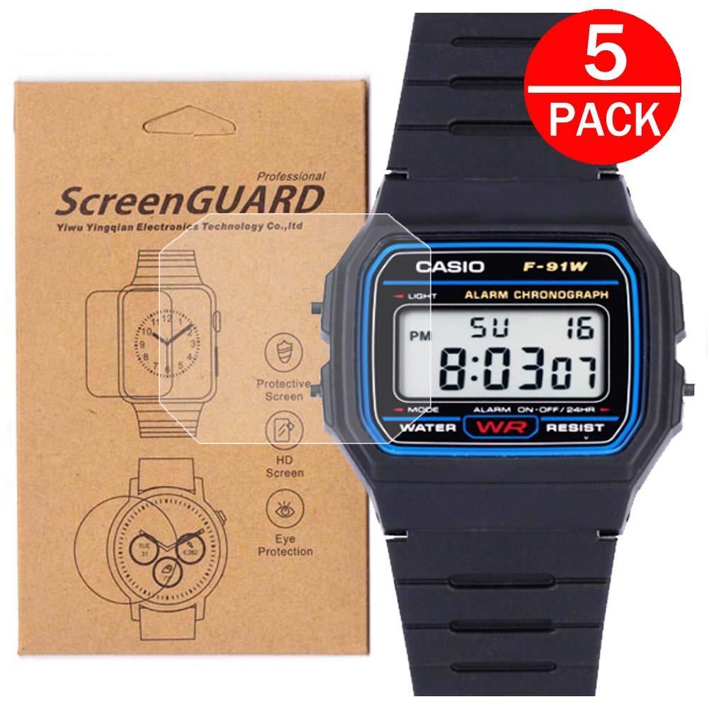 Film protector de pantalla para reloj Casio F91W-1 / F-91W