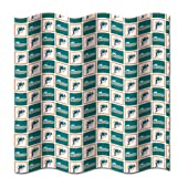 Miami Dolphins NFL Fabric Shower Curtain (72x72)