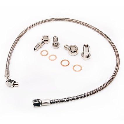 Turbo Kit de línea de alimentación de aceite para VOLVO740 760 940 redblock b230ft W/