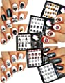 Pirate Theme ? Nail Art Water Tattoo Stickers Decals - Skulls, Crossbones, Cross Swords ? 5 Packs