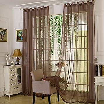 GUOCAIRONG® Tulle Vorhänge Moderne Vorhänge für Wohnzimmer ...