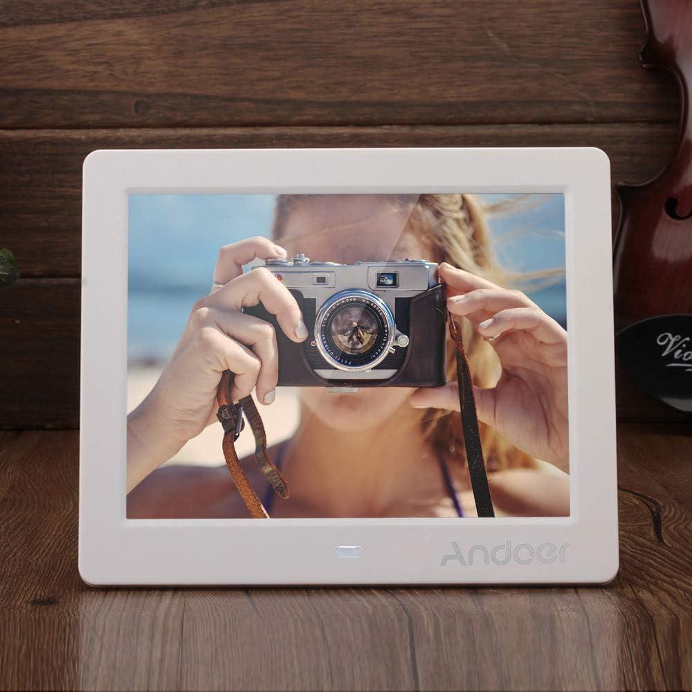 Andoer 8 HD Widescreen Hohe Digitale Bilderrahmen MP4 MP3 Movie ...