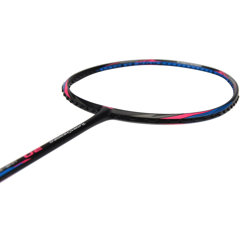 li-ning 2018バドミントンラケットTurbo Charging 20 BlackBlueバドミントンラケット B07BH3NTGD  without string