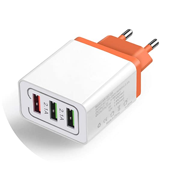 Universal 18 W USB Quick charge 3.0 5V 3A  Plug Mobile Phone
