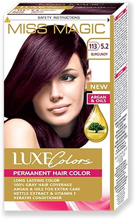 Tinta para pelo Miss Magic Tinte bourgogna Hair Colour con ...