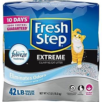 Fresh Step Extreme Clumping Cat Litter, 42 lb. Carton