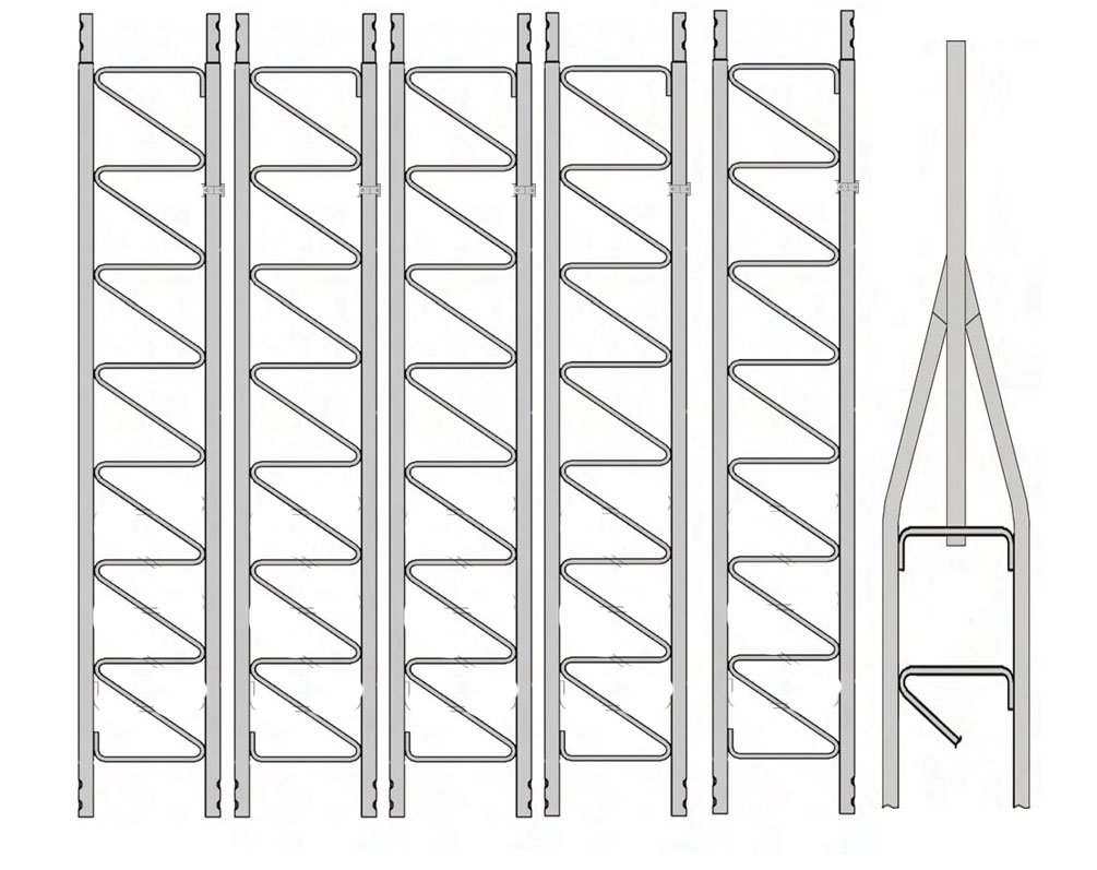 Rohn 25G Series 60' Basic Tower Kit