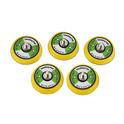 "Valianto 5Pcs 2-Inch Dual-Action Backing Plate, 5/16""-24 Thread 