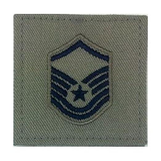 Sage Green AIR FORCE Rank Insignia - E-7 MASTER SERGEANT
