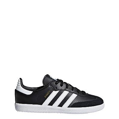 adidas Kids Unisex Originals Samba OG Shoes (1 M US Little Kid) 3aa9c29a0