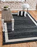Over-dyed Modern Vintage Rugs Black 2′ 7 x 10′ FT Runner Palma Collection Area Rug – Perfect for any Place Review