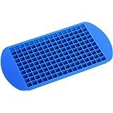 Anself - Cubitera para Hielo, Silicona, 160 Rejillas, Color Azul