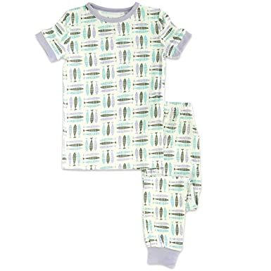 546559cd9 Amazon.com  Silkberry Baby Bamboo Unisex-Baby Pajama Set  Clothing