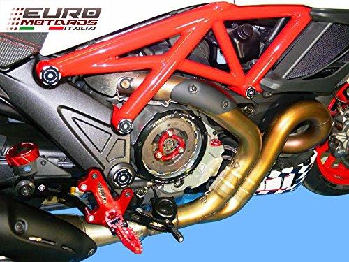 Ducati Multistrada 1200 ducabike Italia transparente tapa del embrague aceite baño ccdv01: Amazon.es: Coche y moto